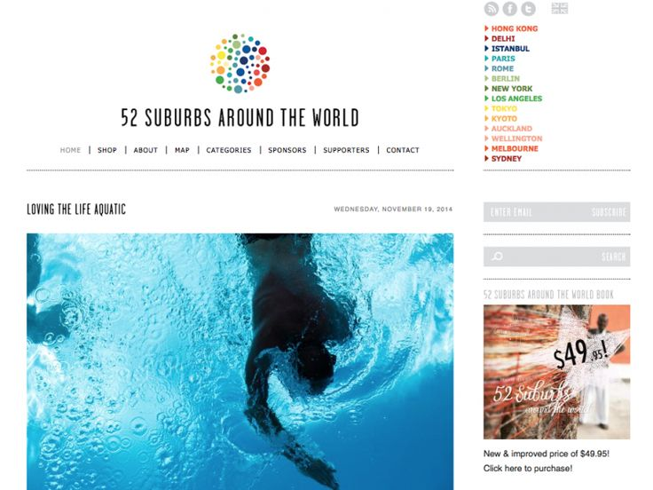 Bloglovin' 52 Suburbs (around the world) - nooks & cranny