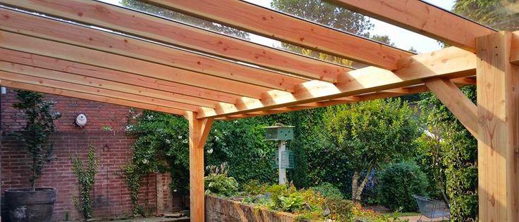 Meer dan 1000 idee n over pergola dak op pinterest pergola 39 s en dek luifels - Pergola dak platte ...