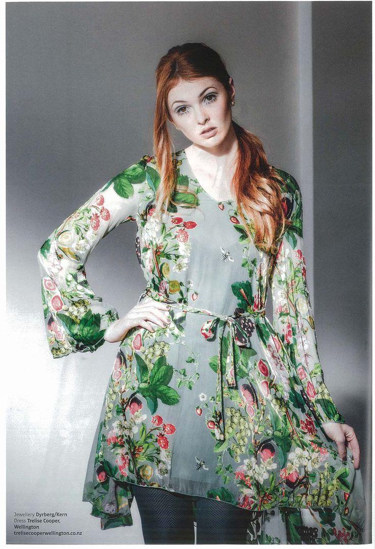 Fishhead Magazine - Livin' On A Flare Dress