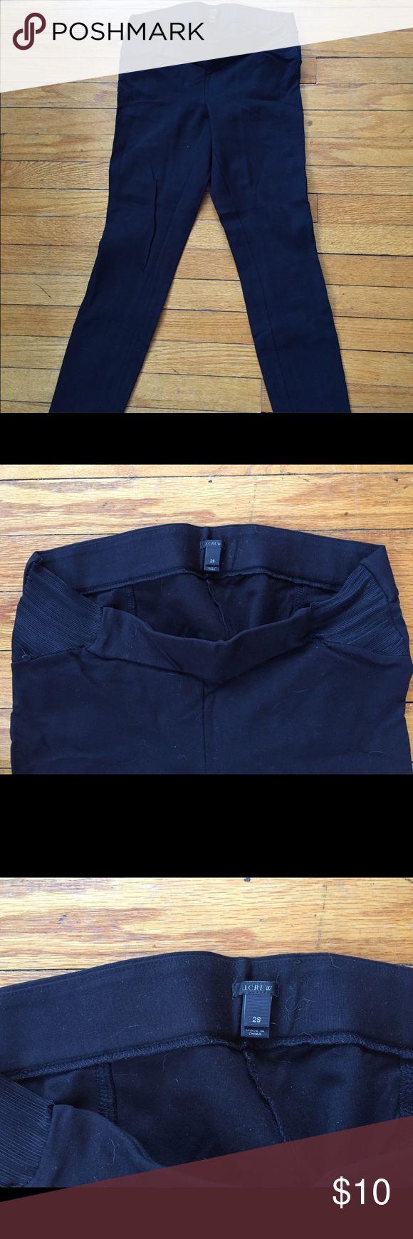 J crew maternity trousers. Size 2s. J crew maternity trousers. Size 2s. Worn a lot but still some life left. Black. J. Crew Pants Leggings