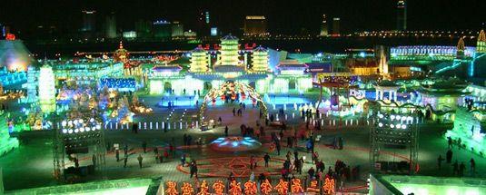 Harbin 2014 Festival internazionale delle sculture di ghiaccio - BookingLetters