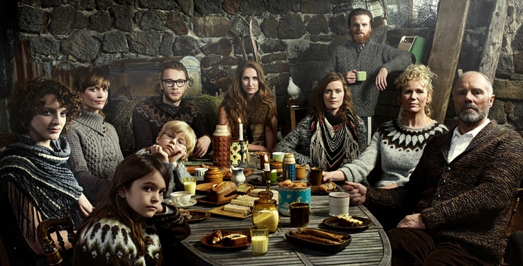 A whole lot of gorgeous. Icelandic people in Icelandic knitwear. And some cake.