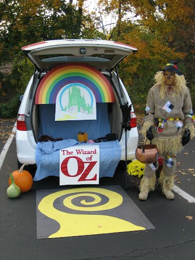 1000 Images About Wizard Of Oz Trunk Or Treat Ideas On & Cute Car Decorating Ideas - Elitflat