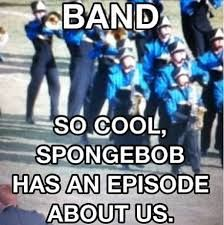 Image result for marching band christmas meme