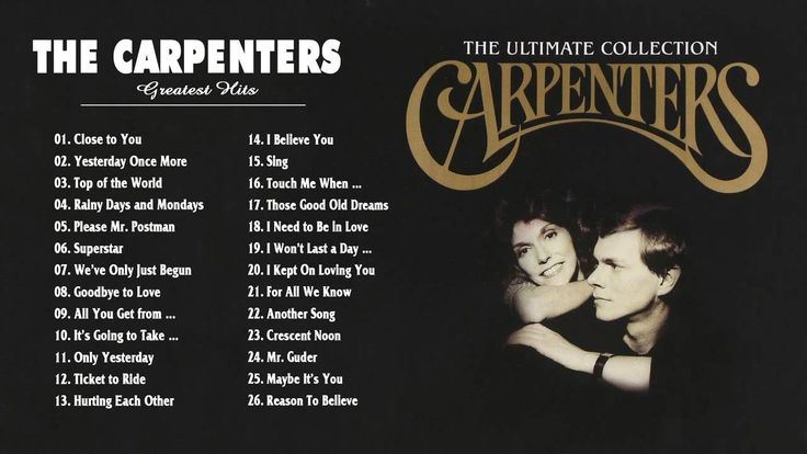 Carpenters Ultimate Collection: The Carpenters Gold: Best Songs Of The Carpenters