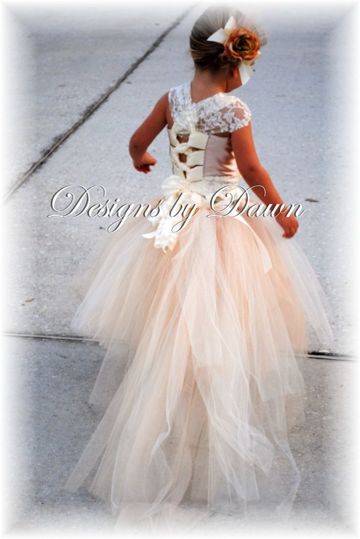 1000  images about Wedding  Flower Girl on Pinterest  Chiffon ...