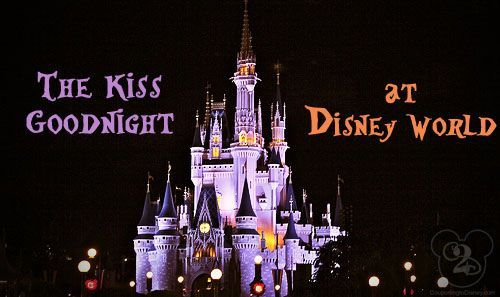 This might be the biggest Disney Secret EVER!    Is there anything special to see at Closing time? YES! About 20 to 30 minutes after the Magic Kingdom has closed, you can take part in experiencing the Kiss Goodnight. This isn't your typical kiss or something meant for just adults, it's for everyone to experience and enjoy.