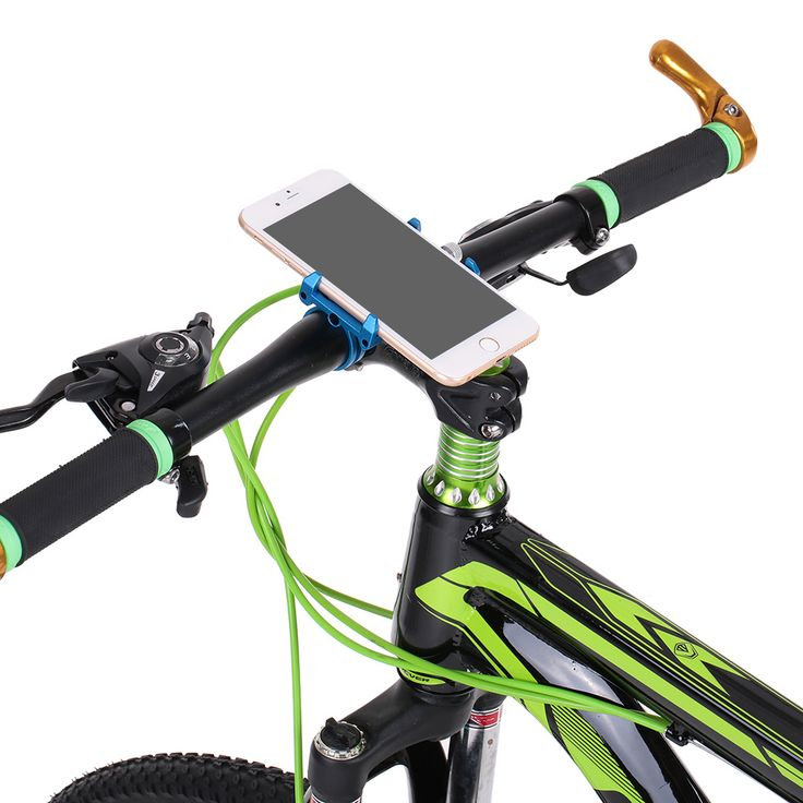 GUB G-86 CNC Bicycle Holder Handbar Clip Stand Mount Bracket for Phone GPS Device Up To 6.2 Inch