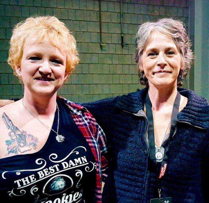 Amy beat Cancer and asked Melissa McBride to sign her scar and then had this incredible tattoo done during #WSCAtlana2015