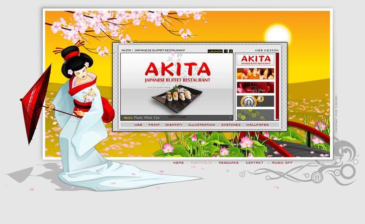Ndesign Studio website in 2005