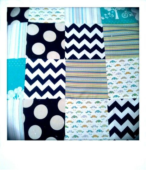 Retro blanket for Baby Price coming on..