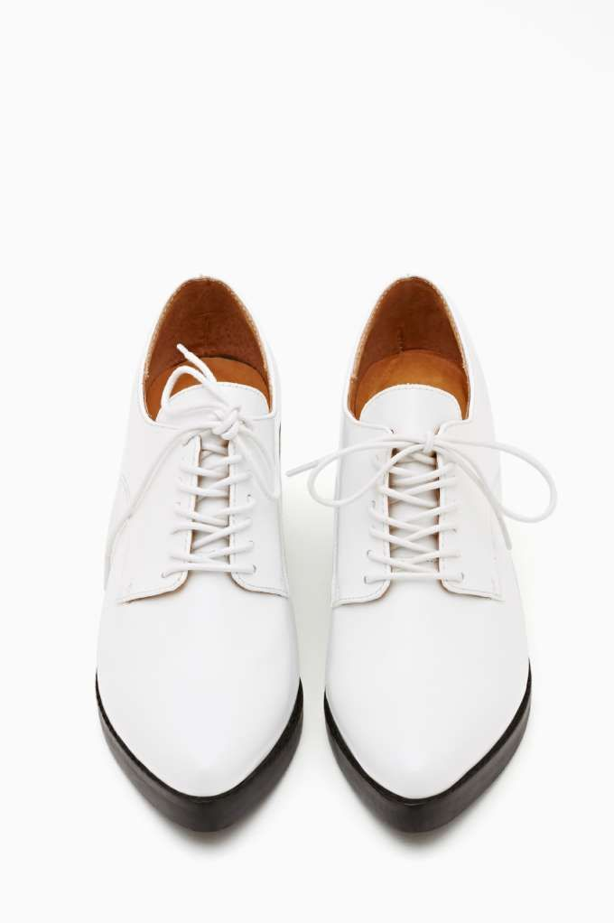 Jeffrey Campbell Wesley oxfords, $188
