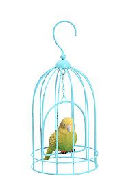HANGING BUDGIE IN CAGE