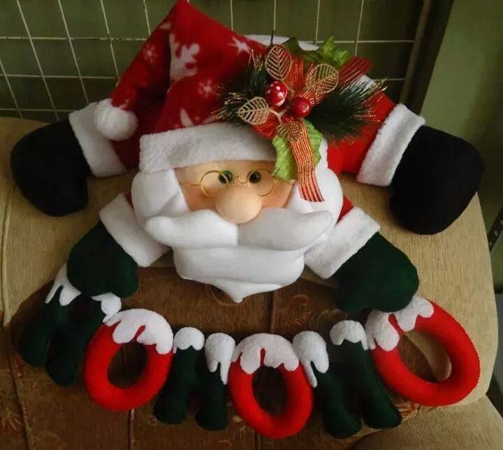 noel hoho na porta 1 foto | natal | Pinterest | Noel and