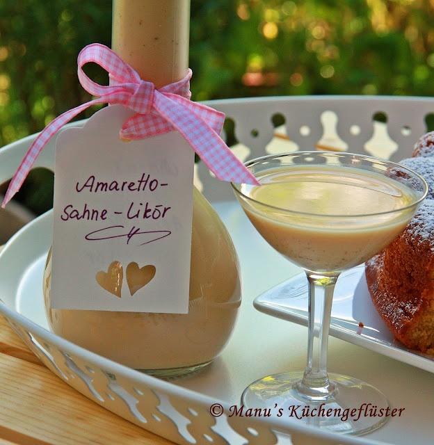 Manus Küchengeflüster: Amaretto-Sahne-Likör