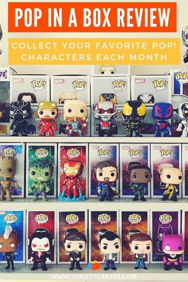 Pop In A Box Review Monthly Pop Vinyl Subscription Vinyl Subscription Geek Subscription Box Pop Culture Gifts