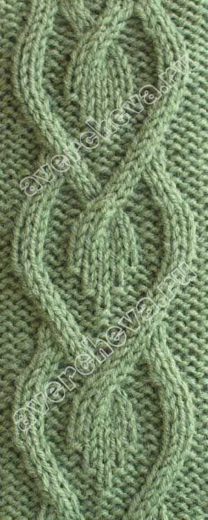 Knitulator mag #Zopfmuster: #Herzzöpfe