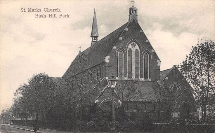 Middlesex - ENFIELD, Bush Hill Park, St Marks Church - Printed Post Card