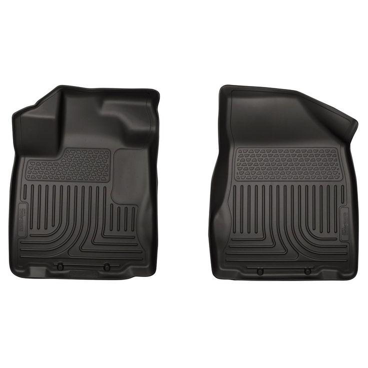 Husky Weatherbeater 2013-2015 Nissan Pathfinder Black Front Floor Mats/Liners