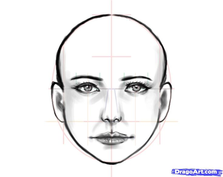 How to Draw a Human Face, Step by Step, Faces, People, FREE Online Drawing Tutorial, Added by estheryu1981, December 5, 2010, 5:29:11 am
