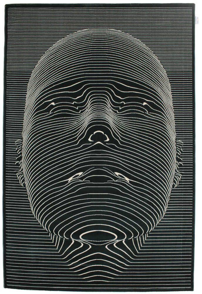 Dywan Face - Ciemnozielony CVD13441