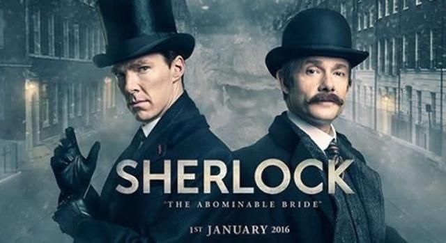 'Sherlock' volverá con un episodio especial el primer día de 2016.  La exitosa serie de la BBC viaja a su tiempo original para deleitarnos con otro misterio caso. #Sherlock #EspecialdeNavidad #LaNoviaAbominable #Series #Televisión