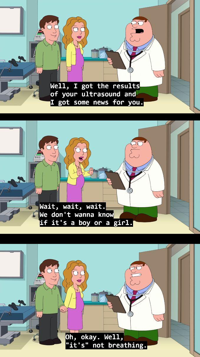 Funniest joke I've ever seen on Family Guy - Imgur