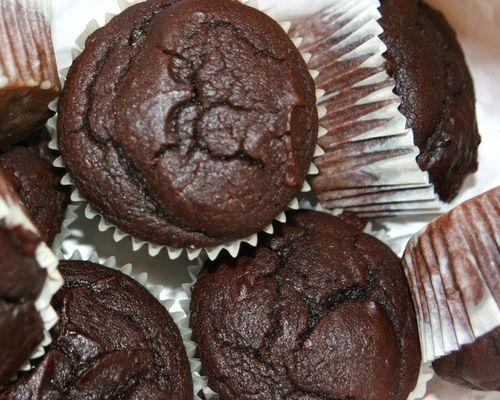 Tupperware Double Choc Fudge Brownie Muffins