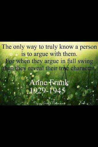 Anne Frank was truly an amazing person