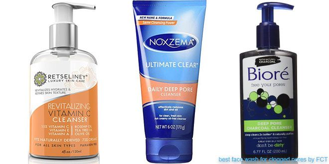 10 Best Face Washes for Clogged Pores