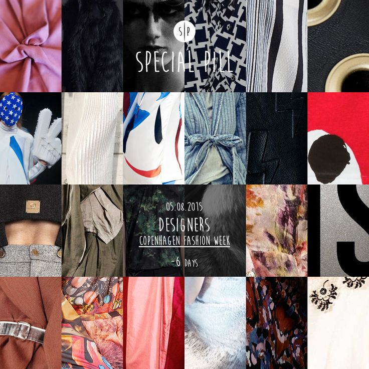 | Copenhagen Fashion Week | Qual è il tuo designer preferito? #specialpill #cphfw #cphfwss16
