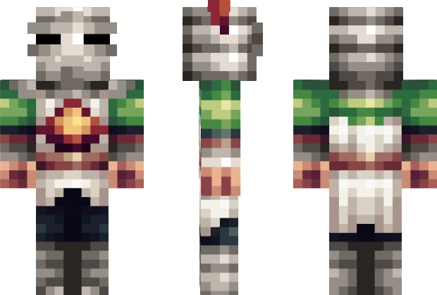 Knight Solaire Of Astora Dark Souls Minecraft Skin