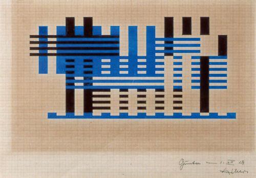 Josef Albers, Study for Pergola, 1929