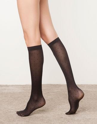 Business-Socken mit Tupfen - Strumpfhosen - Accessoires - Deutschland