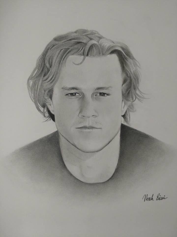 Heath Ledger by Noah Bissi