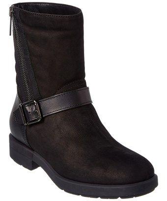 6afc2d6d6a40 AQUATALIA AQUATALIA LAURA WATERPROOF NUBUCK LEATHER BOOT.  aquatalia  shoes