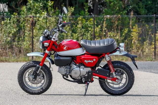 Honda Monkey 125 2018 Texnika Xarakthristika Mini Bike Honda Honda Grom