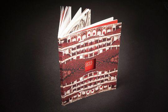 Spielplan Oper Graz 13/14 - Corporate Publishing by moodley brand identity , via Behance