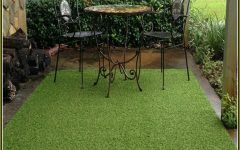 Lovely Fake Grass Outdoor Rug