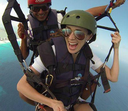Jacky Bracamontes disfruta al extremo de sus vacaciones en Cancún