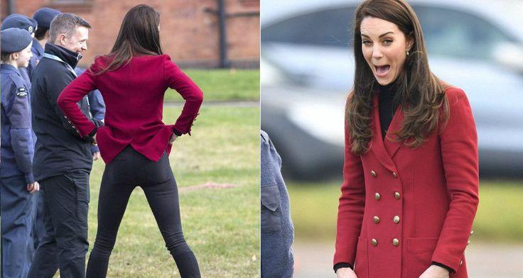 Μια πριγκίπισσα που σηκώνει τα παντελόνια της -Η κίνηση της Κέιτ Μίντλετον που αποκάλυψε το καλογυμνασμένο σώμα της