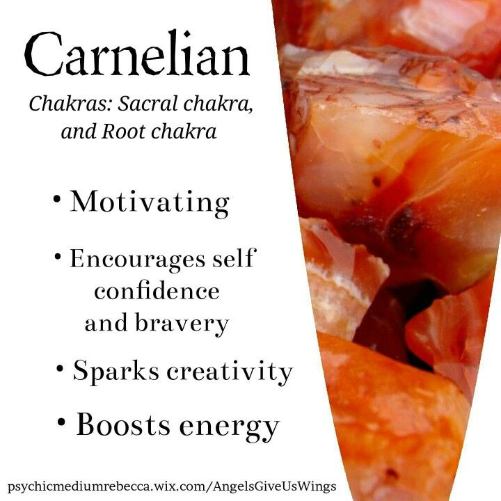 Carnelian crystal meaning