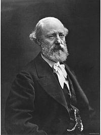 Eugène Viollet-le-Duc, architecte français.Il a posé les bases de l'architecture moderne.