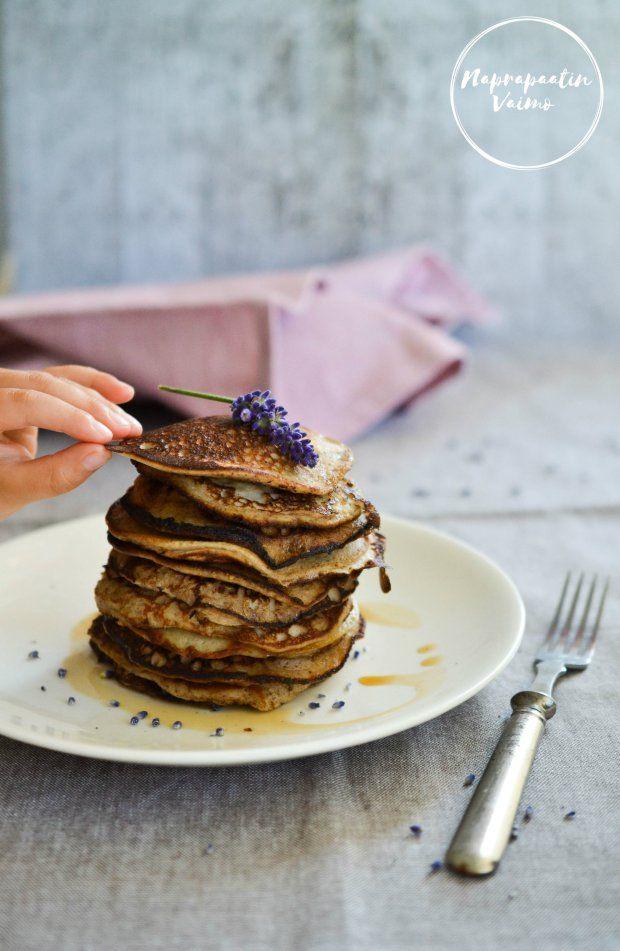 Kalsiumin saannista ja kalsium pancakesit (G, M)