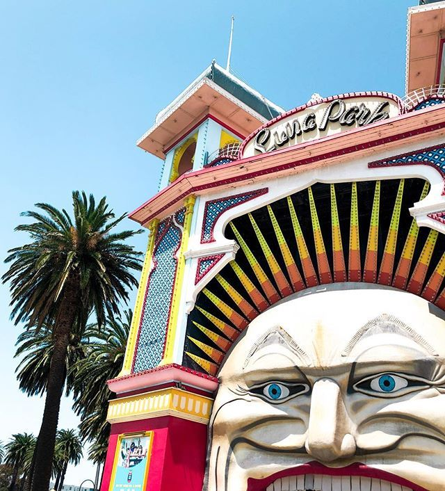 Best 25 melbourne luna park ideas on pinterest circus melbourne family fun day luna park melbourne negle Images