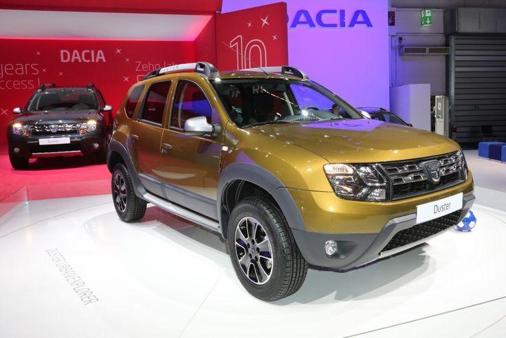 """#Dacia legt zur #IAA eine #Sonderedition des #Duster auf. Als """"Édition 2016"""" bekommt der Dacia-Offroader eine neue grüne Lackfarbe, spezielle schwarze Alufelgen, das Navi Evolution und eine Rückfahrkamera. #fabiankreher"""