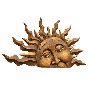 31 best outdoor sun decor images on Pinterest Sun Sun art and