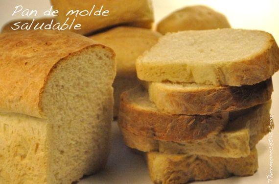 Pan de molde con aceite de oliva amasado con Thermomix