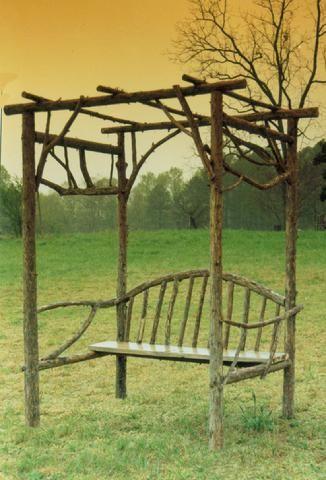 Rustic Garden Structures
