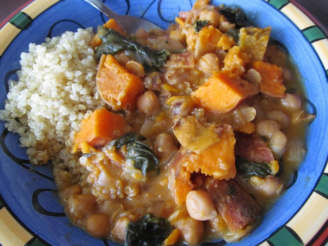 Sweet Potato Chickpea Curry | Gluten Free Recipes To Try | Pinterest